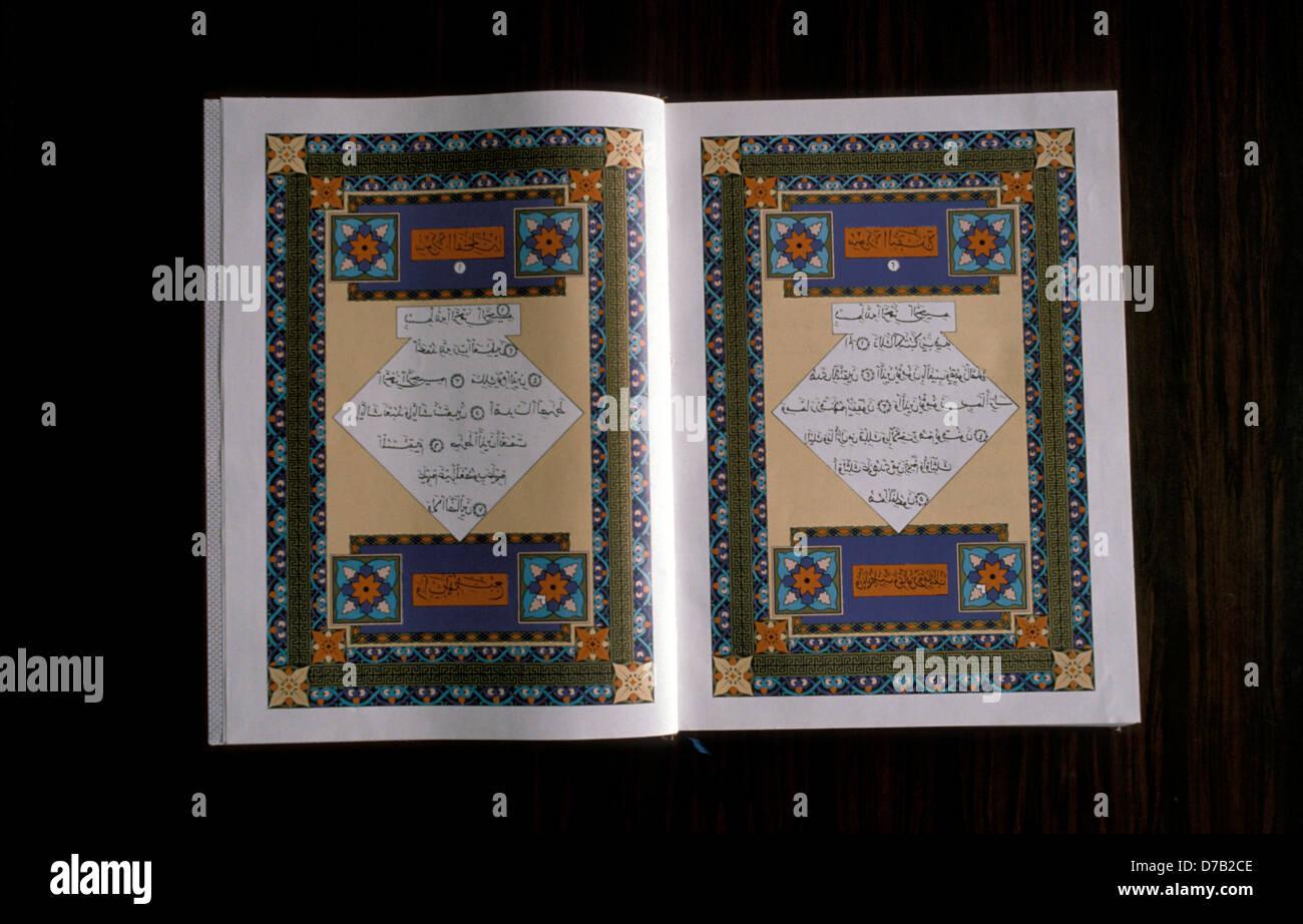 koran book - Stock Image