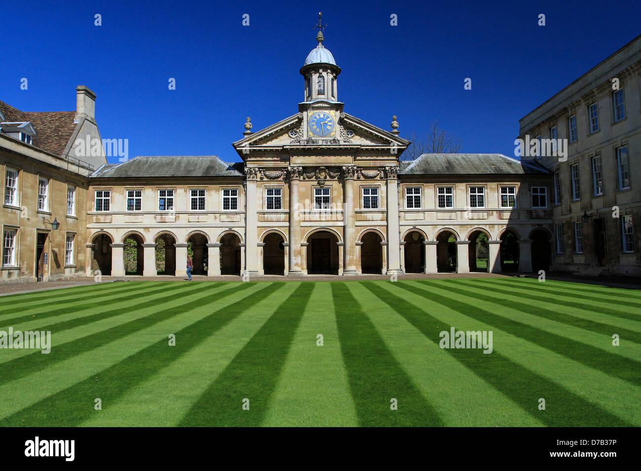 Emmanuel College Grounds - Stock Image