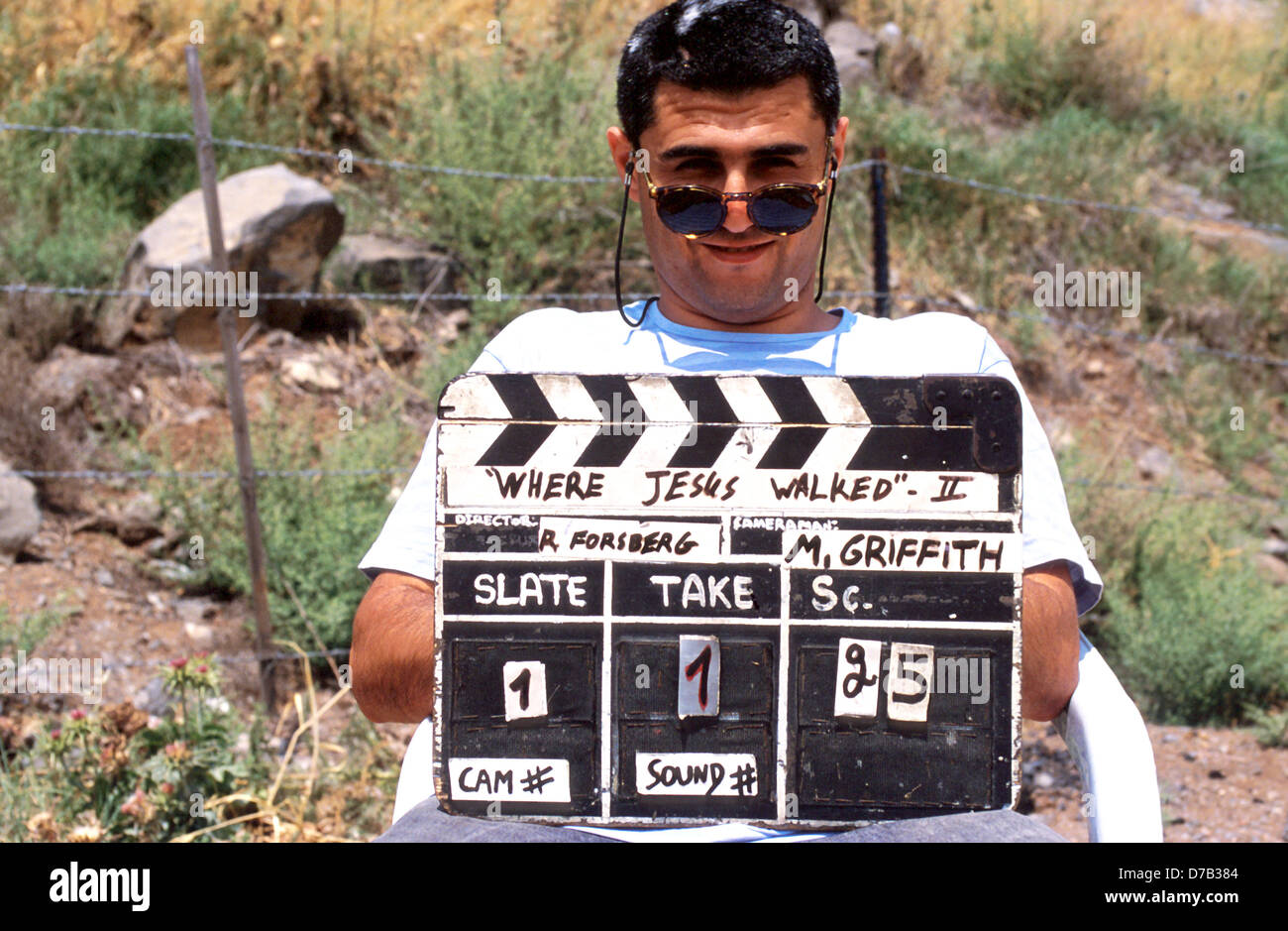 at production set of a movie - Stock Image