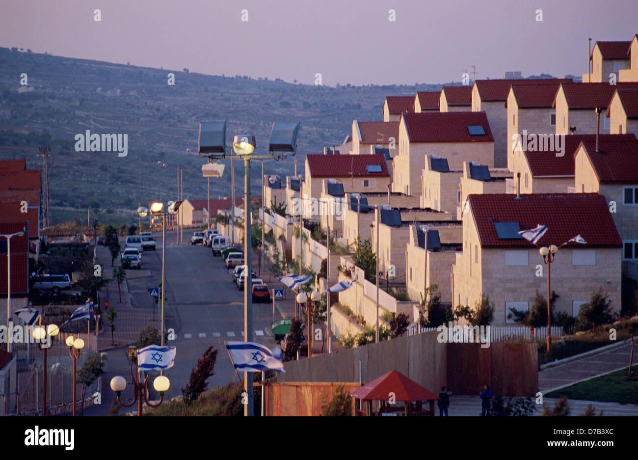 Efrat settlement, gush etzion - Stock Image