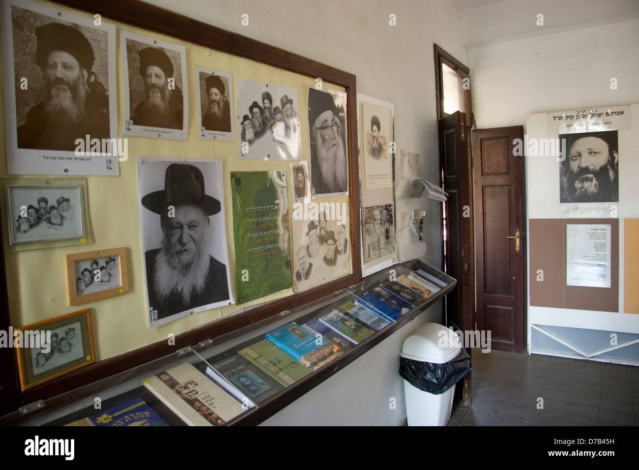 the house of harav Abraham Isaac Hacohen Kook in jerusalem - Stock Image