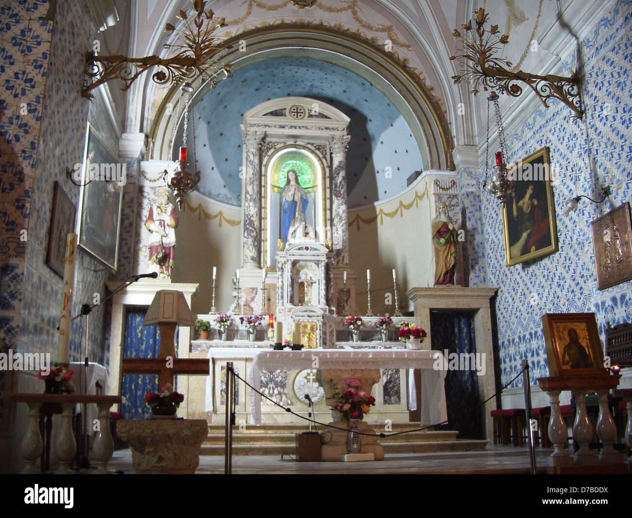 st johns the baptist church in ein kerem - Stock Image