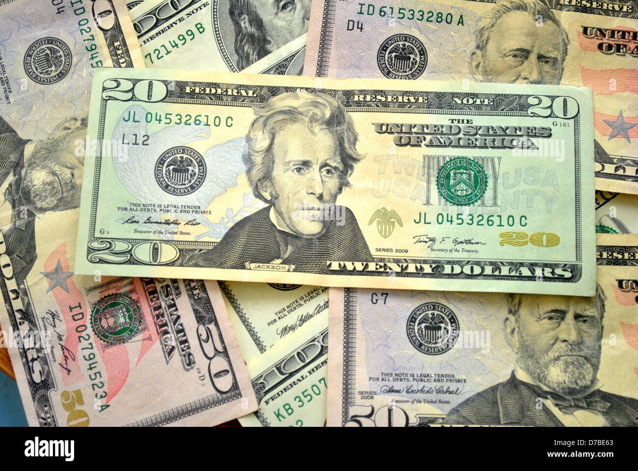 American Currency - Stock Image