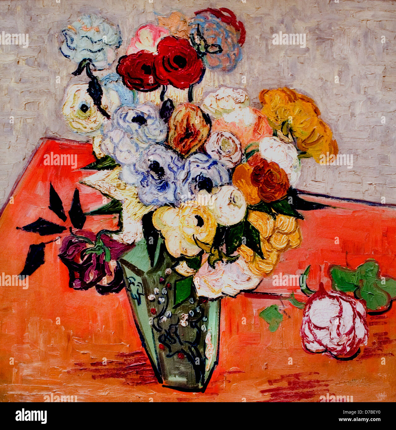 Vincent van Gogh 1853\u20131890 Dutch Netherlands Japanese Vase
