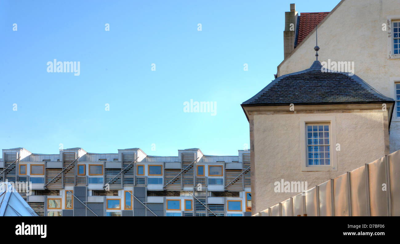 Scottish Parliament Building, Edinburgh, Scotland UK Stock Photo