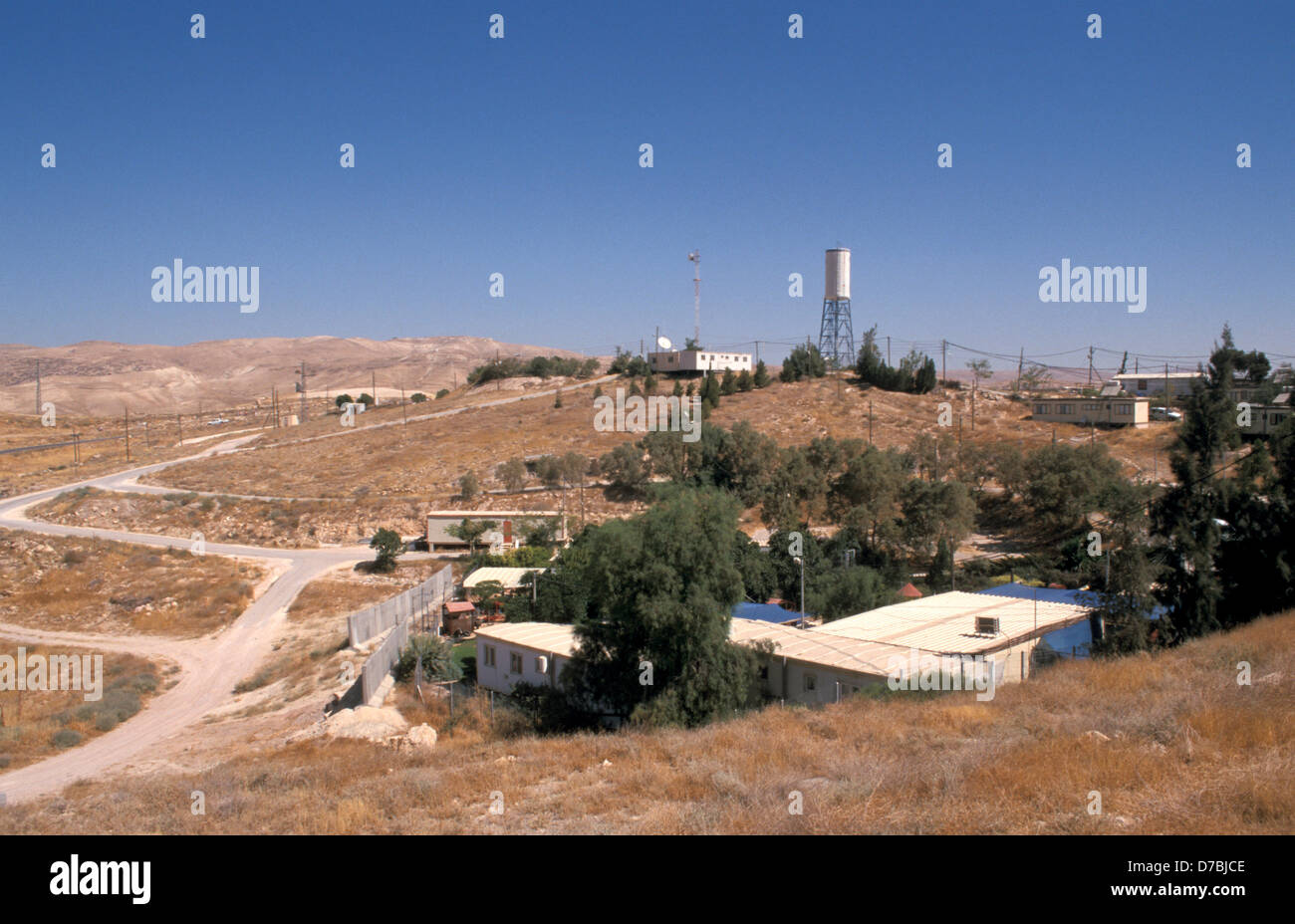 view of alon settlement in judea, 2003 - Stock Image