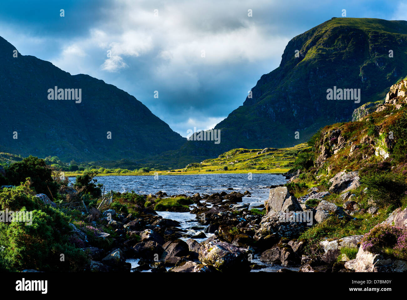 Gap of Dunloe , Co. Kerry, Ireland - Stock Image