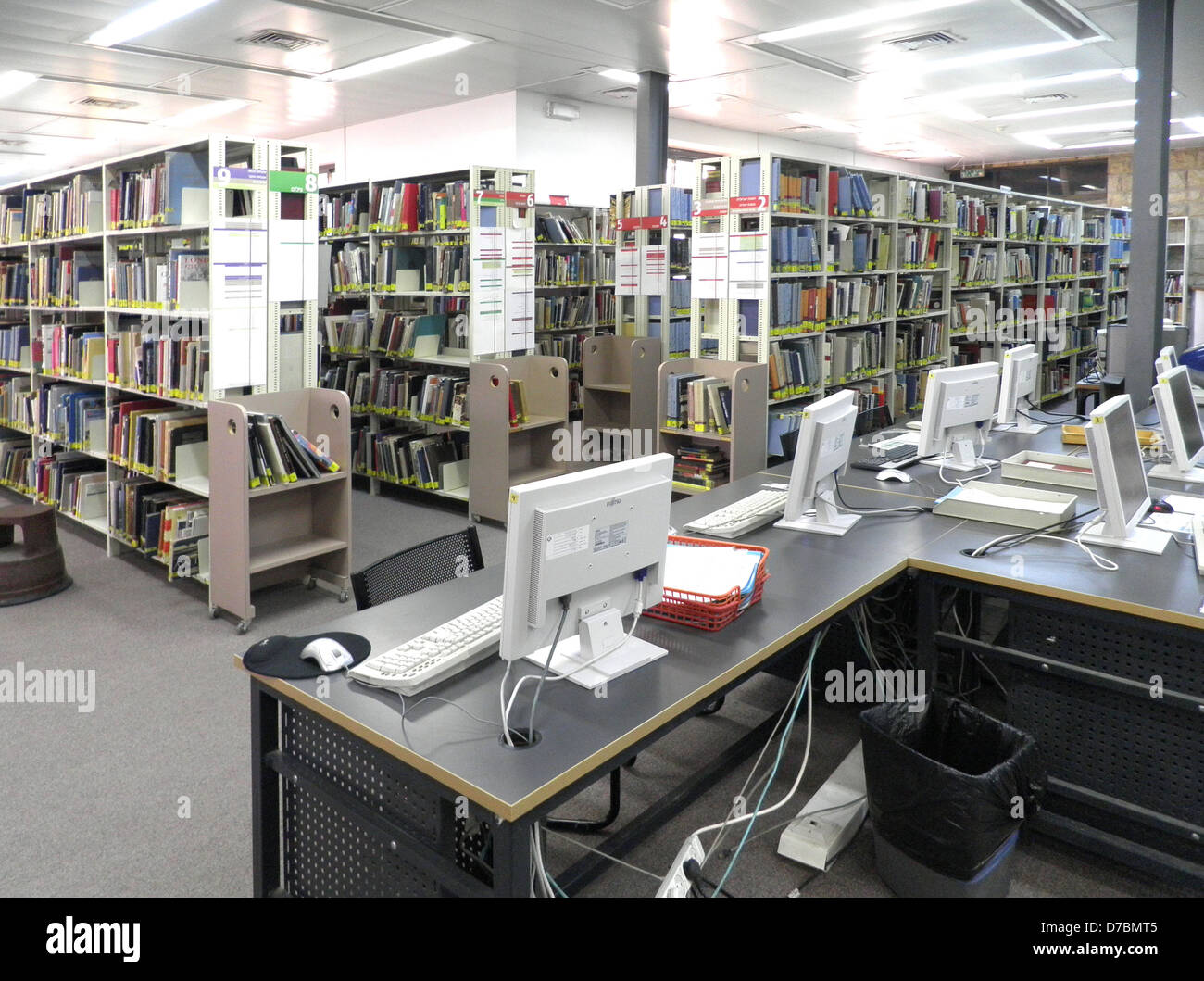 The Library Of The Bezalel Academy Of Arts And Design, Jerusalem - Stock Image