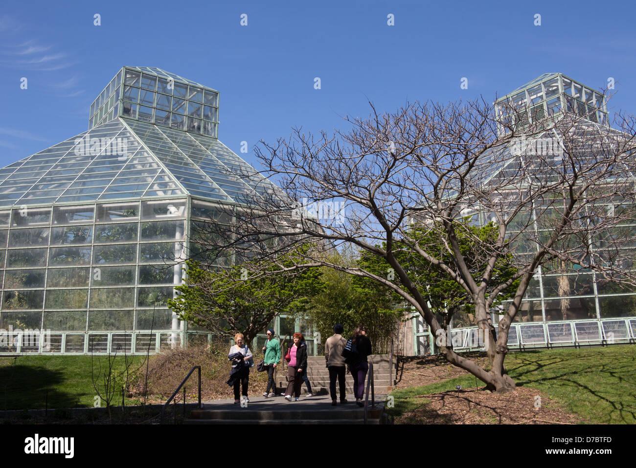 The Steinhardt Conservatory At The Brooklyn Botanic Garden New