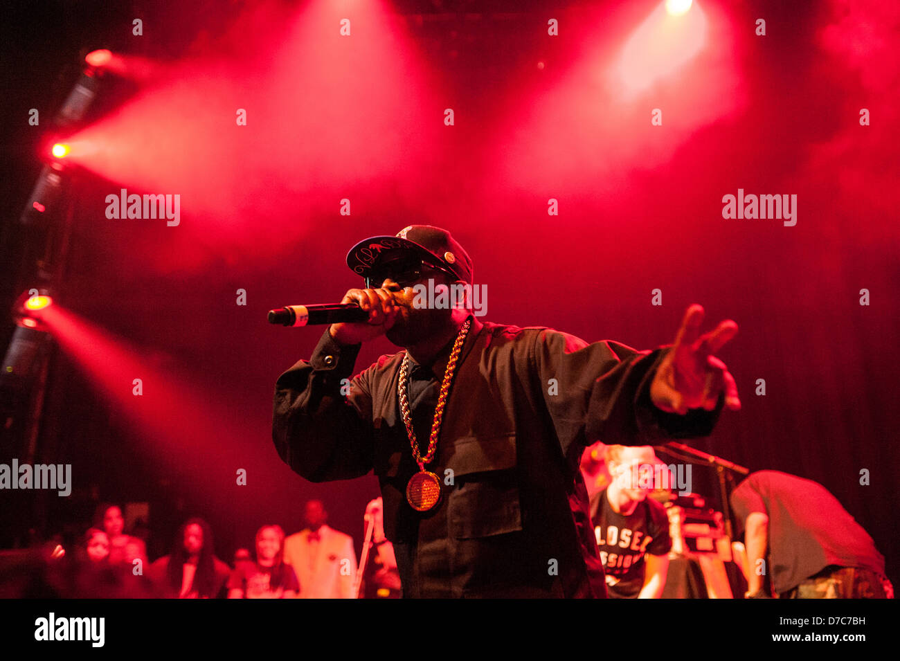 Hip-hop artist Big Boi performing on May 1, 2013 at Park West in Chicago. Credit: Max Herman/Alamy Stock Photo