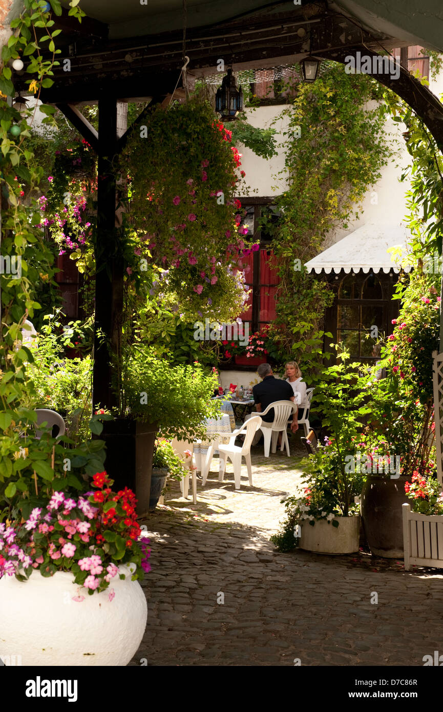 Beautiful Peaceful Rustic French Village Garden Montreuil France ...