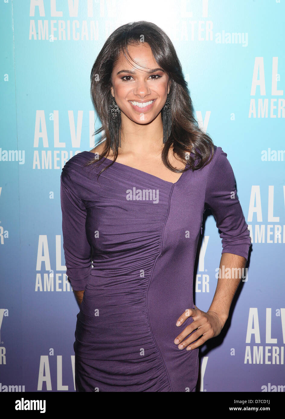 ABT Dancer Misty Copeland Alvin Ailey American Dance Theater Opening Night Gala Benefit - Arrivals New York City, - Stock Image