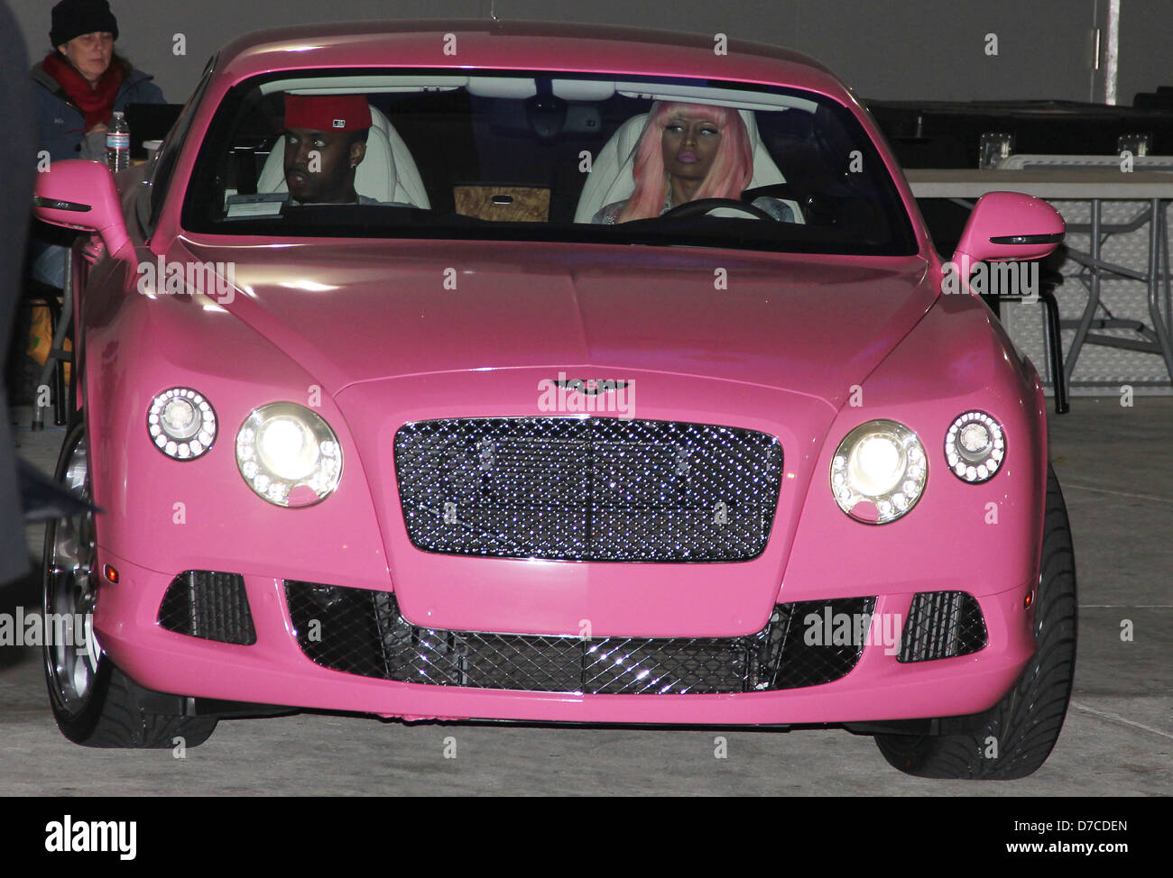 Pink Bentley High Resolution Stock Photography And Images Alamy