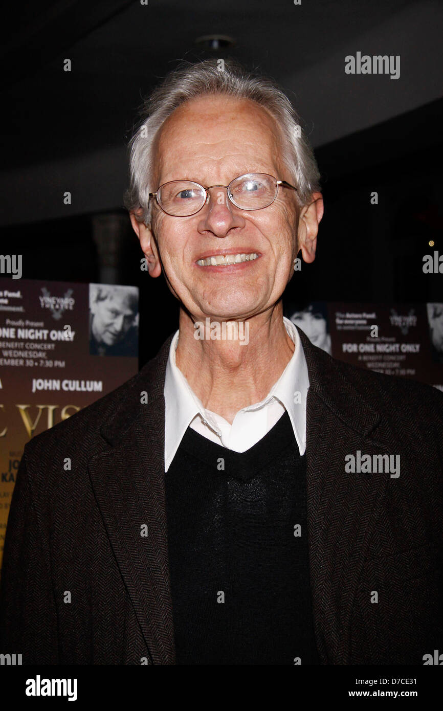 James Harms After party for the one-night-only Broadway benefit concert performance of 'The Visit' held - Stock Image