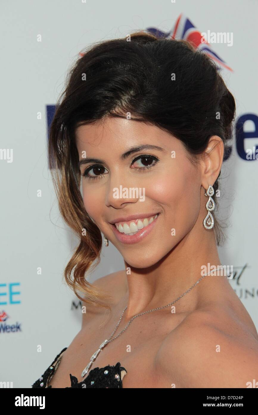 Los Angeles, California, USA. 3rd May 2013. Branca Ferrazo   attends   Britweek -  ''Downton Abbey Vintage - Stock Image