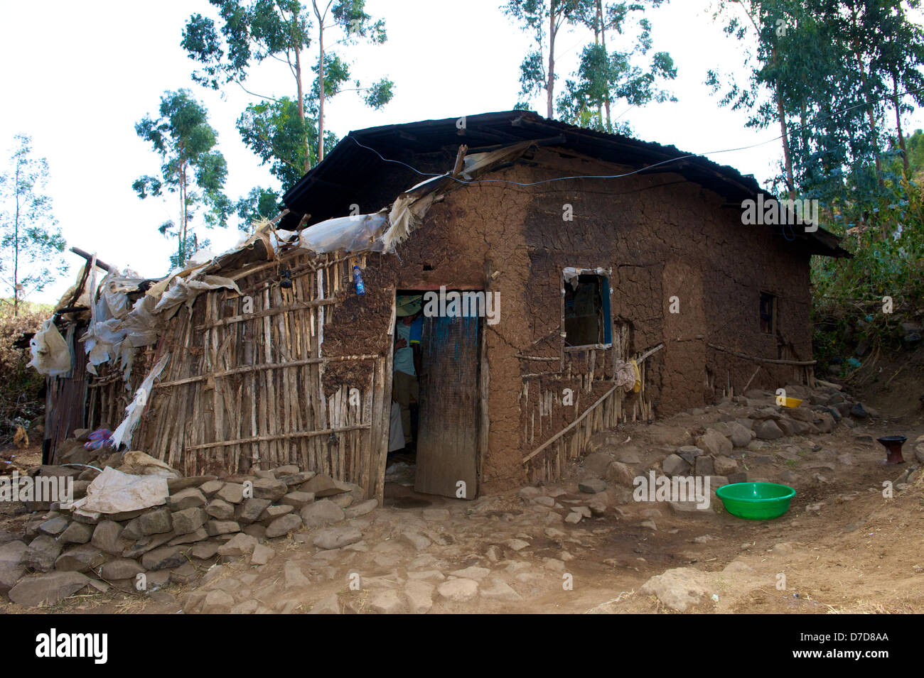 Incredible Exclusive Poor House Made Of Earth Stands In Yeka A Part Interior Design Ideas Apansoteloinfo