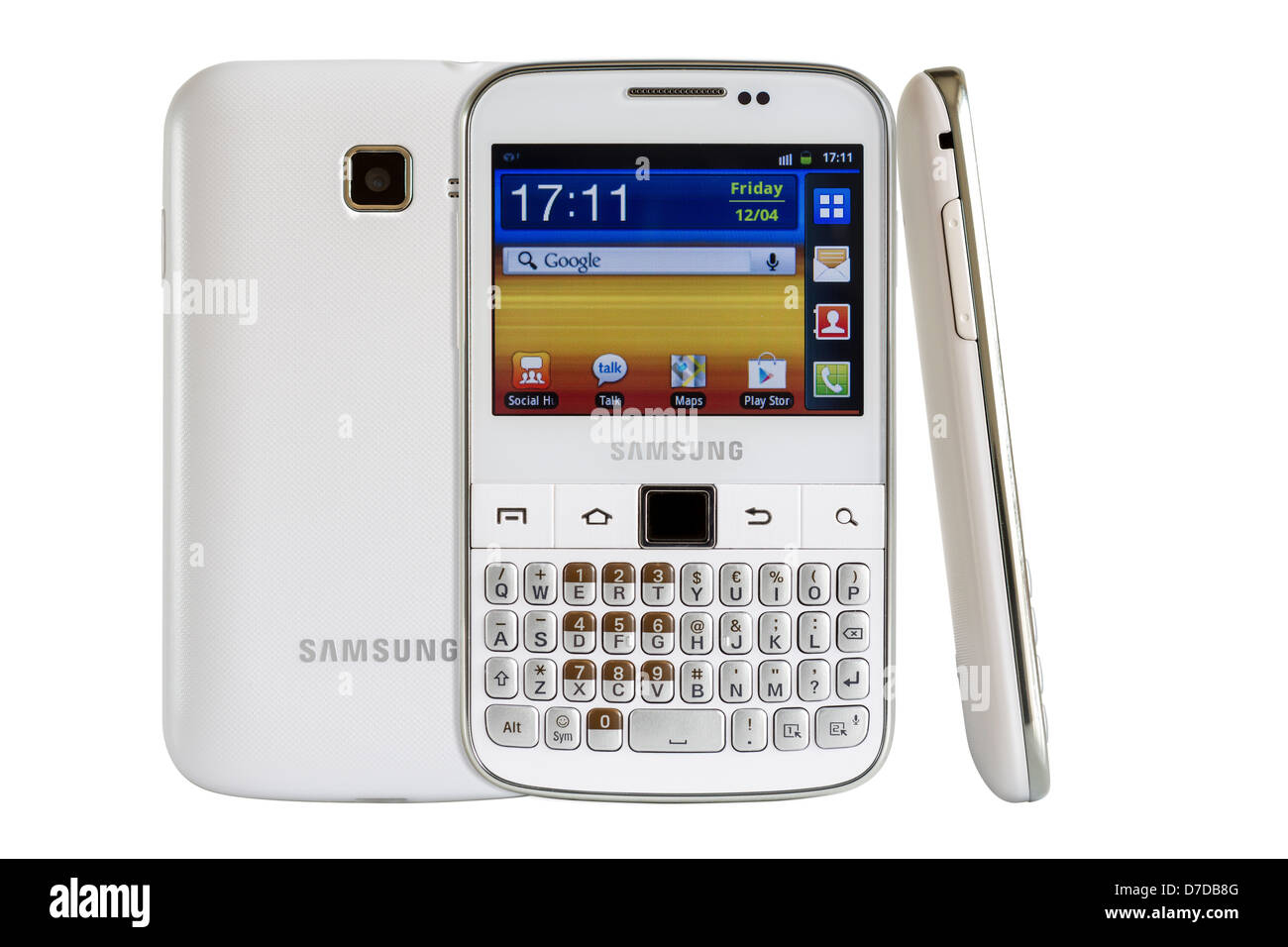 Samsung Galaxy Y Pro B5510 is a Android smart phone with full QWERTY