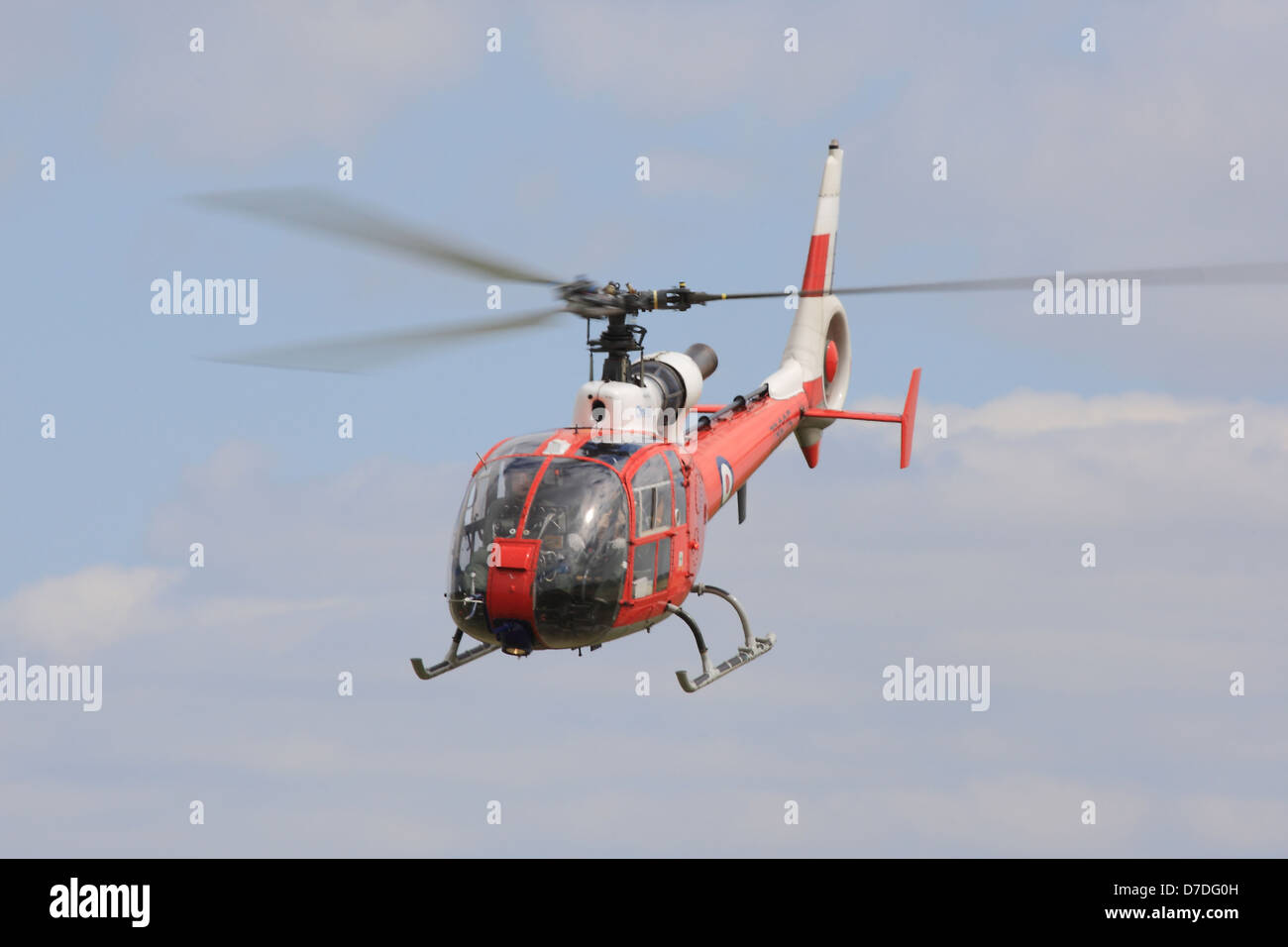 ZB625  Westland SA-341D Gazelle HT3 from the Empire Test Pilot School Boscombe Down - Stock Image