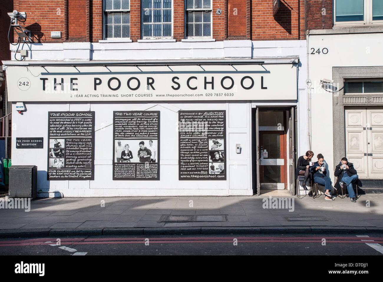 The Poor School building, Kings Cross area, London, United Kingdom - Stock Image
