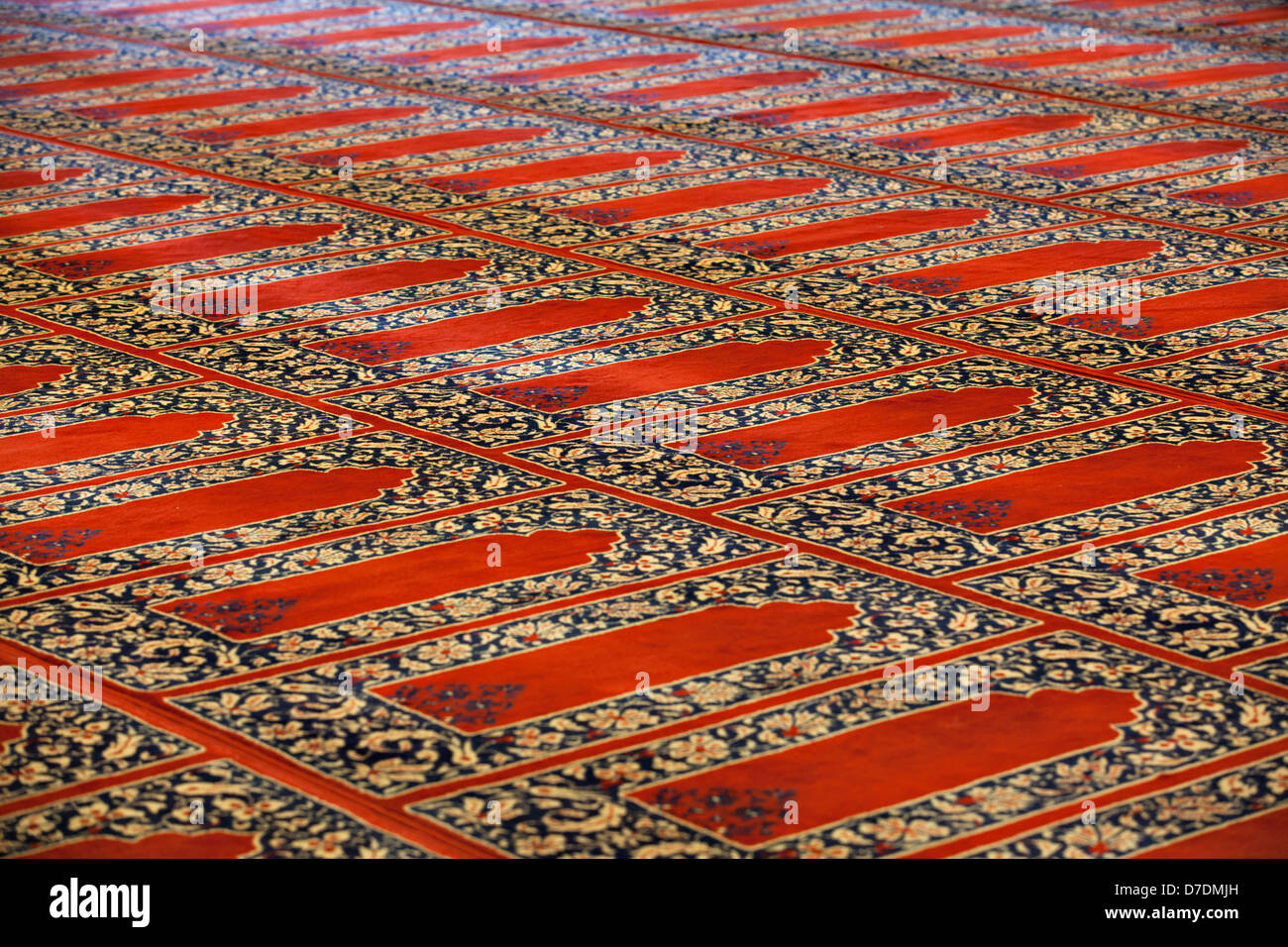 Carpets In Selimiye Mosque Edirne Turkey