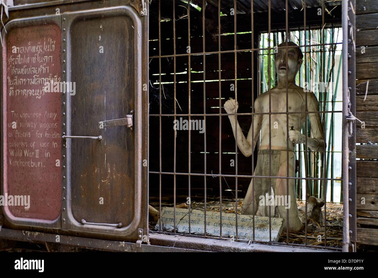 graphic characterisation of ww 2 prisoner of war confinement cells