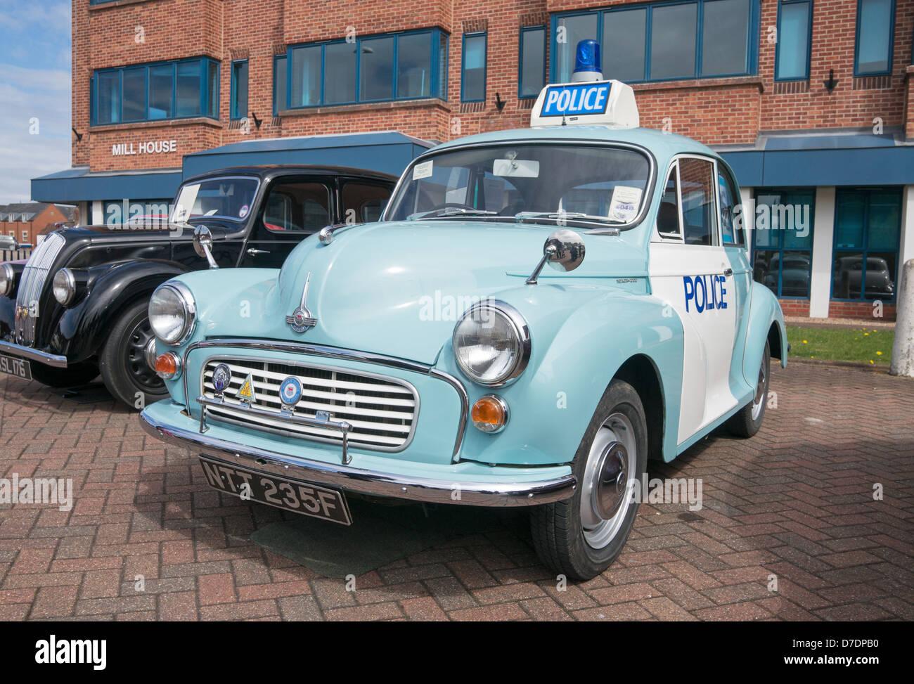 Restored Morris MInor Police car Lincoln Classic Car Rally, England ...