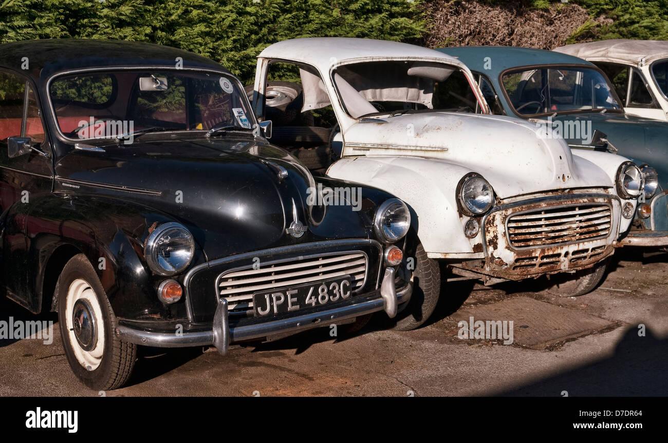 Old Morris Minor Cars for Restoration Stock Photo: 56237276 - Alamy