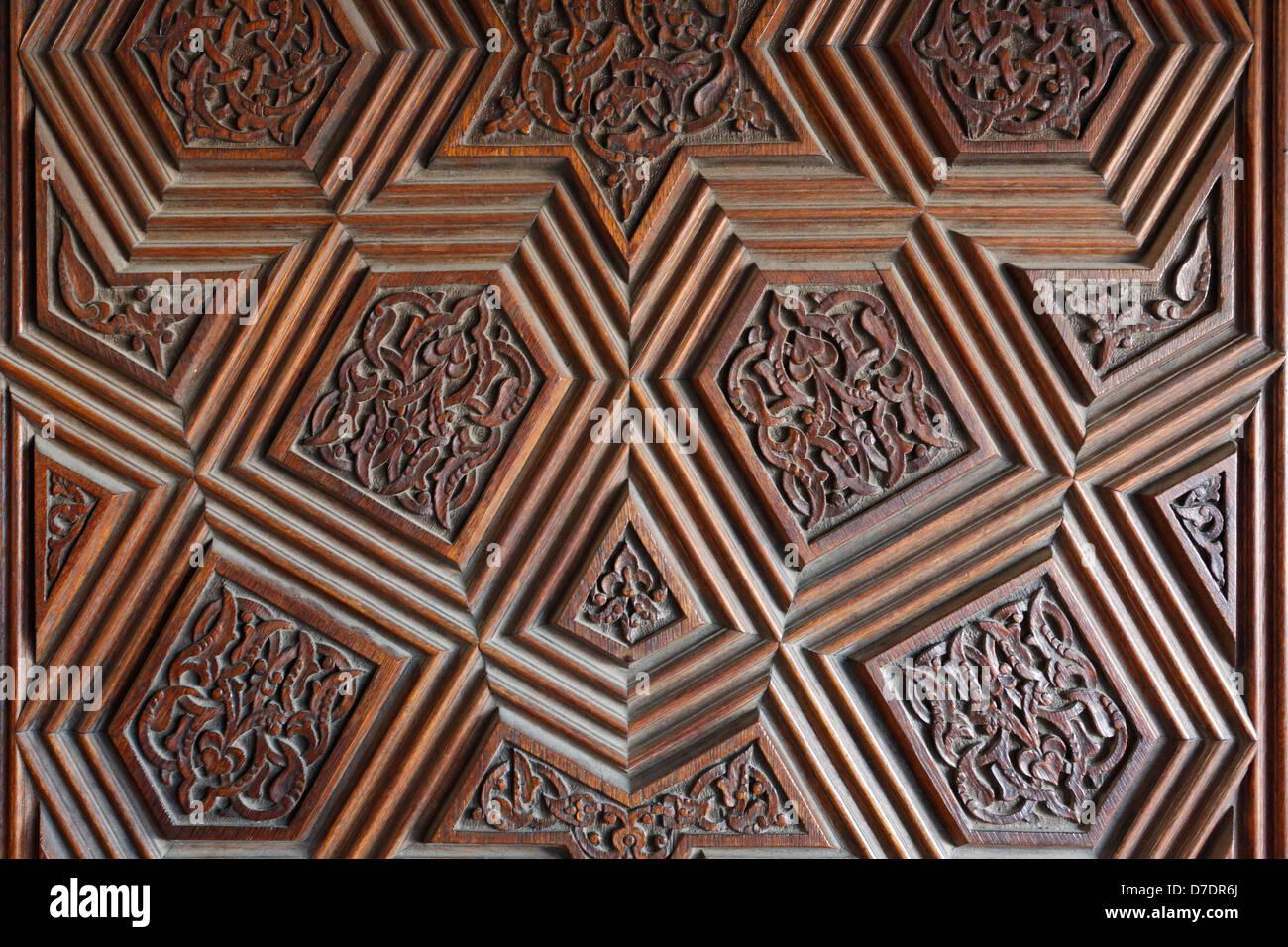 Door patterns of Grand Mosque in Bursa, TurkeyStock Photo