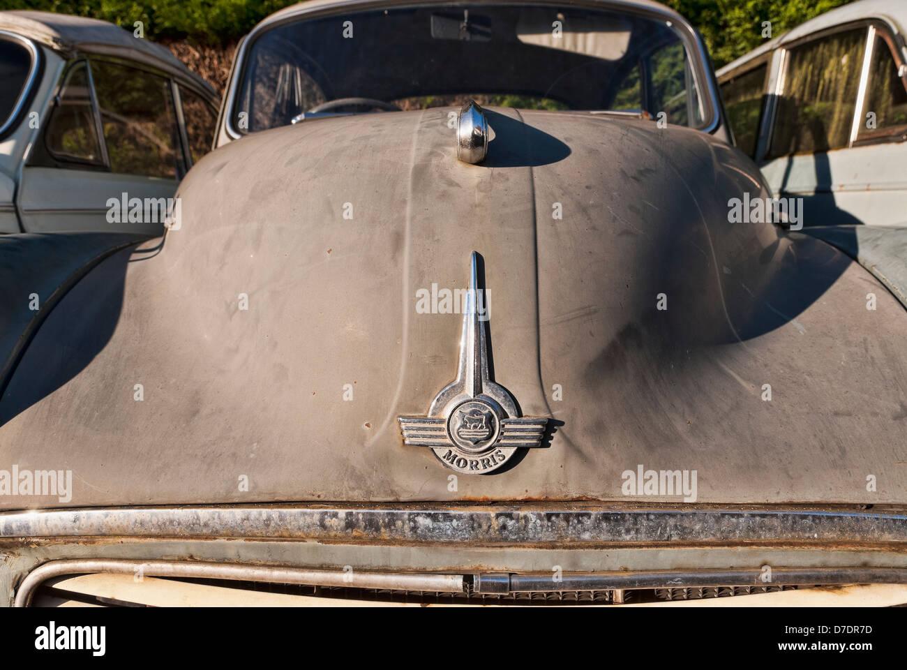 Old Morris Minor Cars for Restoration Stock Photo: 56237313 - Alamy