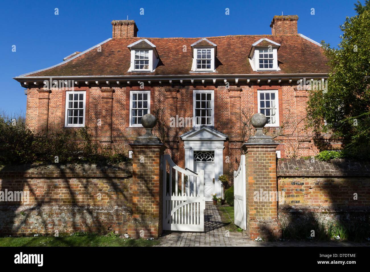 England Buckinghamshire Princes Risborough Manor house - Stock Image