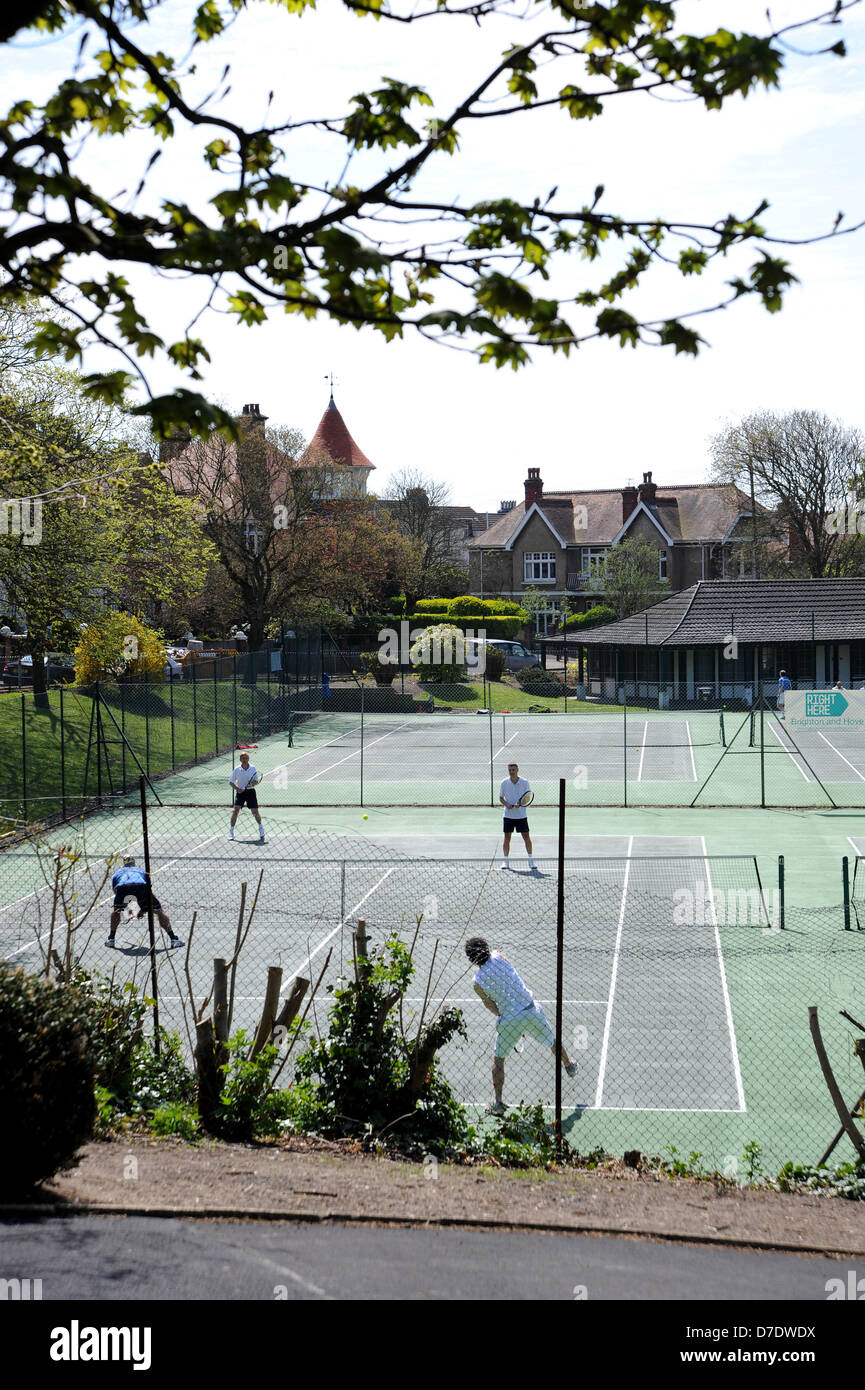 Tennis Courts Brighton High Resolution Stock Photography And Images Alamy