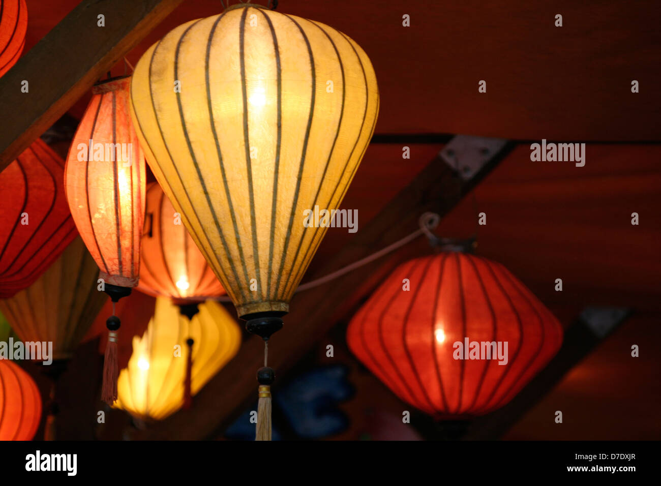 Lampion - Stock Image
