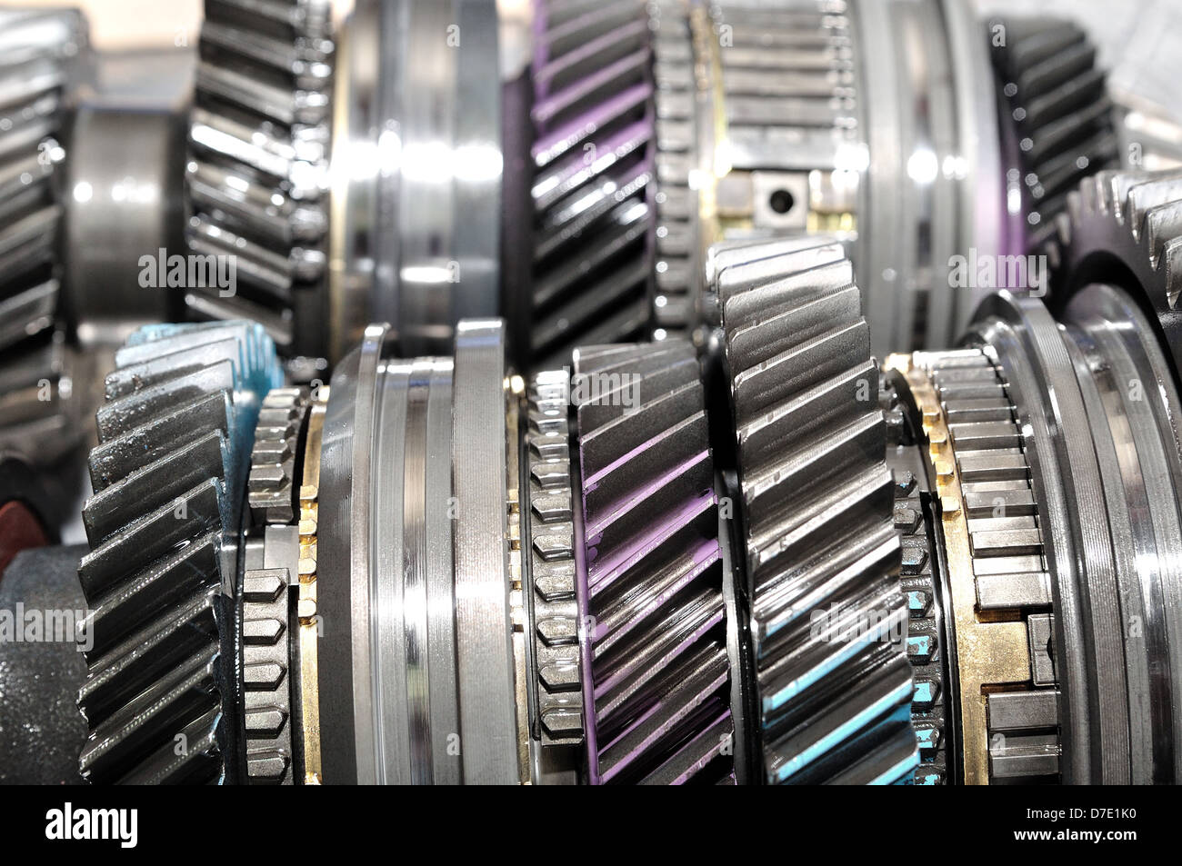 Car Gearbox Parts Stock Photo 56242340 Alamy