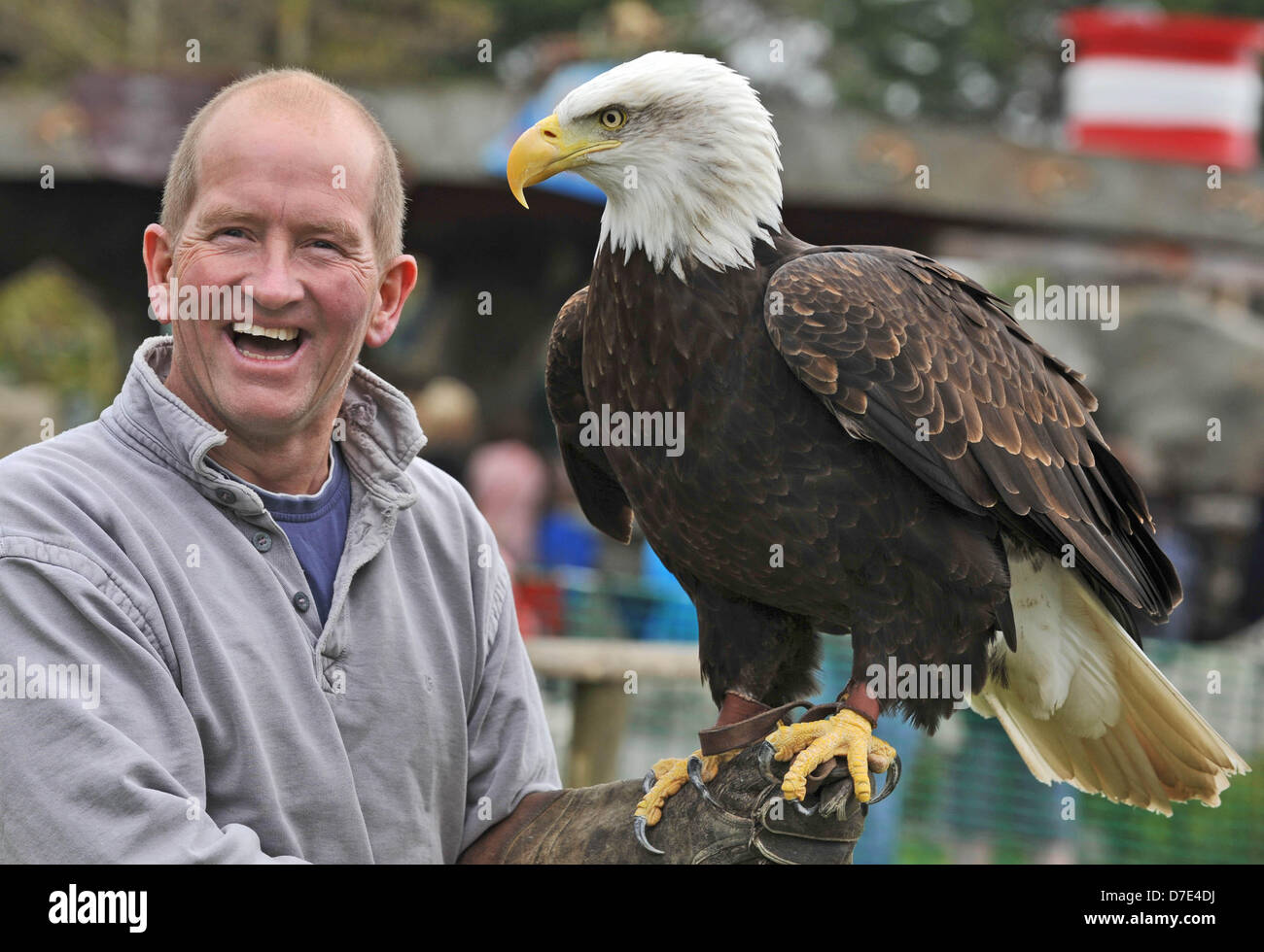 Weymouth, UK. 5th May, 2013. ITV Splash champÕ Eddie the Eagle Edwards faced a challenge every bit as daunting - Stock Image