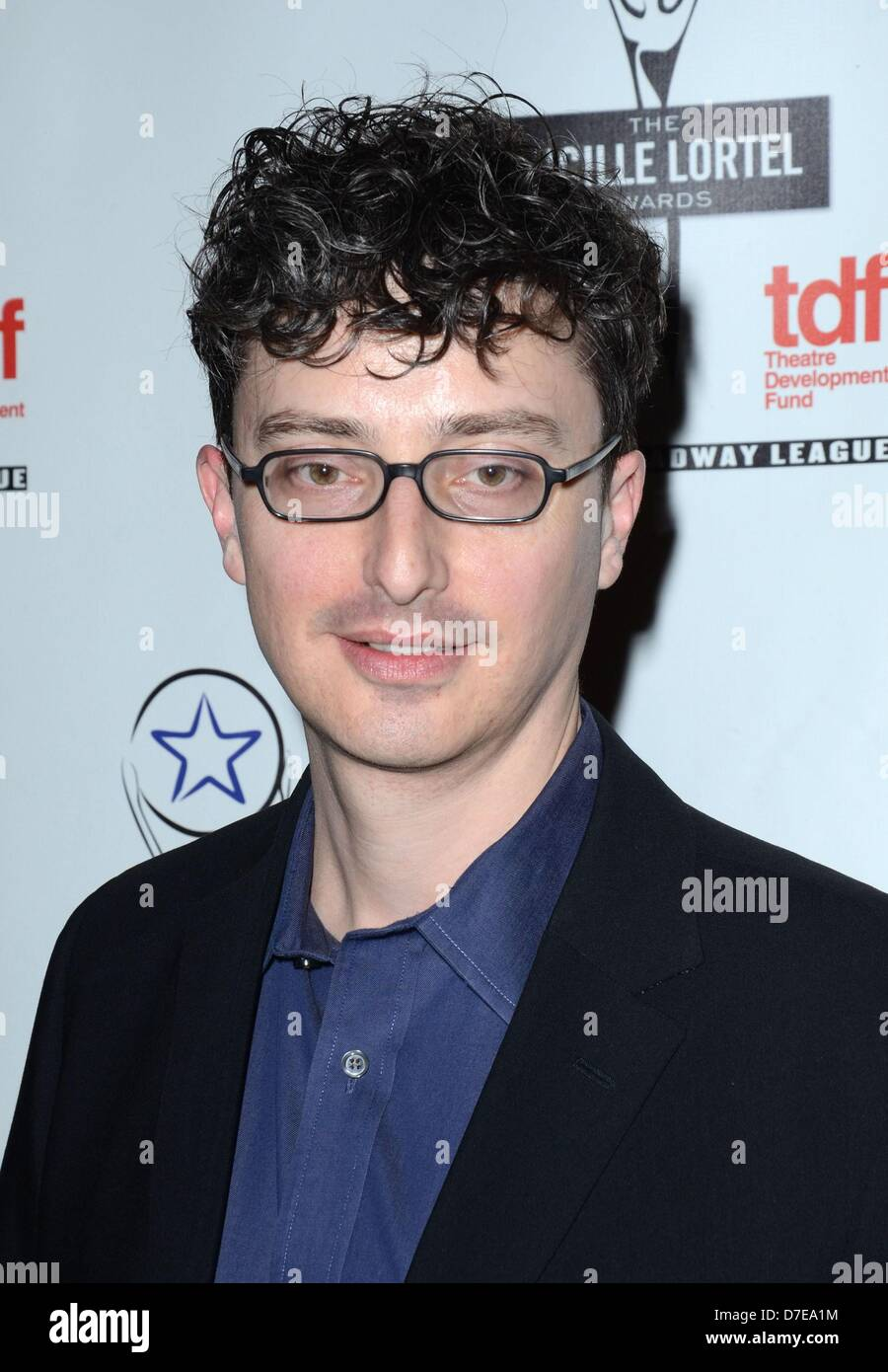 New York, USA. 5th May 2013. Beowulf Boritt at arrivals for The 28th Lucille Lortel Awards, NYU Skirball Center, - Stock Image