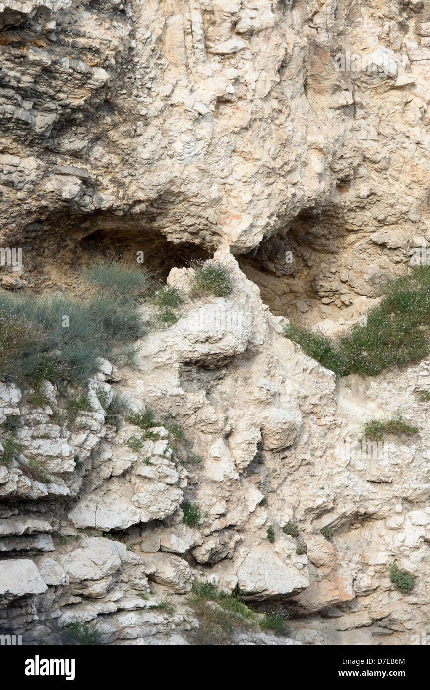 rock   skull   garden tomb jerusalem israel