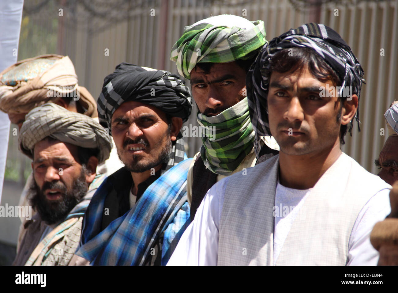 Taliban militants join peace process in Heart province Stock Photo