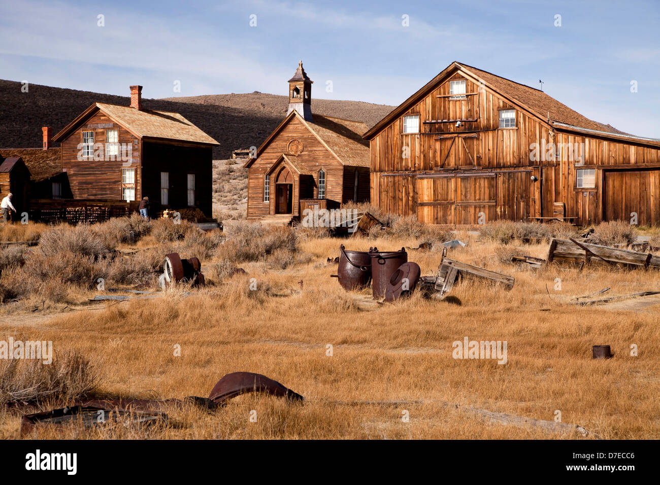 ghost town Bodie, California, United States of America, USA - Stock Image