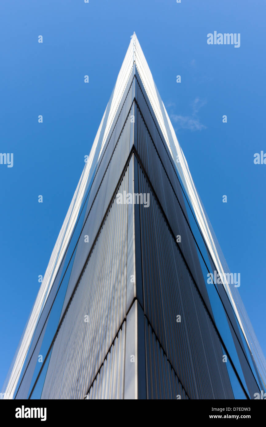 Ernst and Young building, London skyscraper - Stock Image
