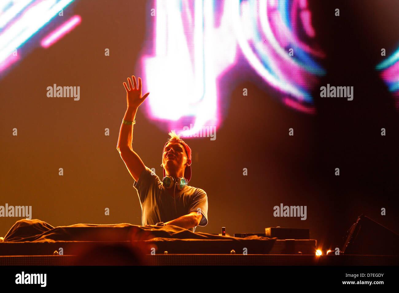 DJMag top-20 DJ: Avicii - Stock Image