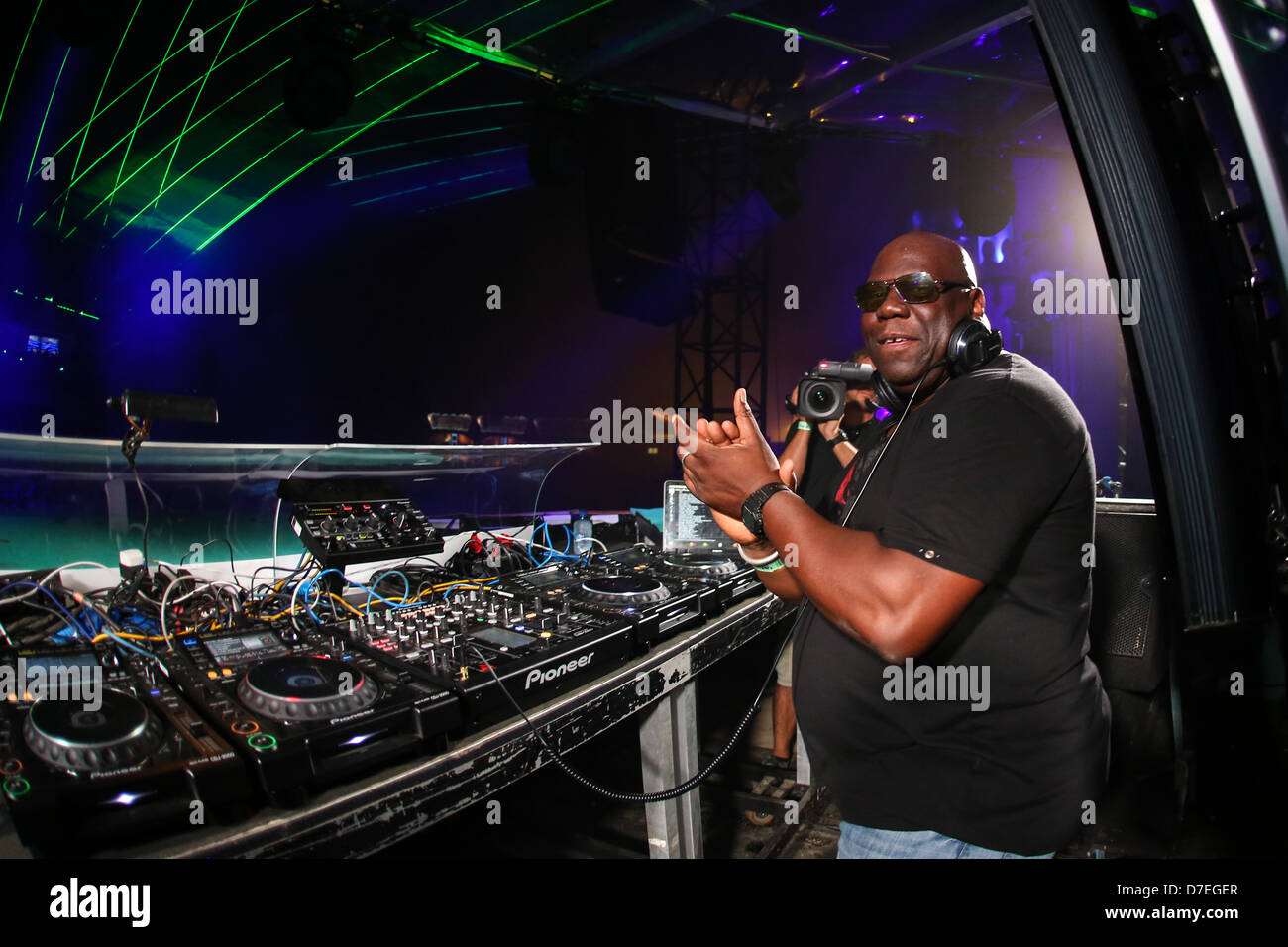 Carl Cox Consolle.Carl Cox Stock Photos Carl Cox Stock Images Alamy