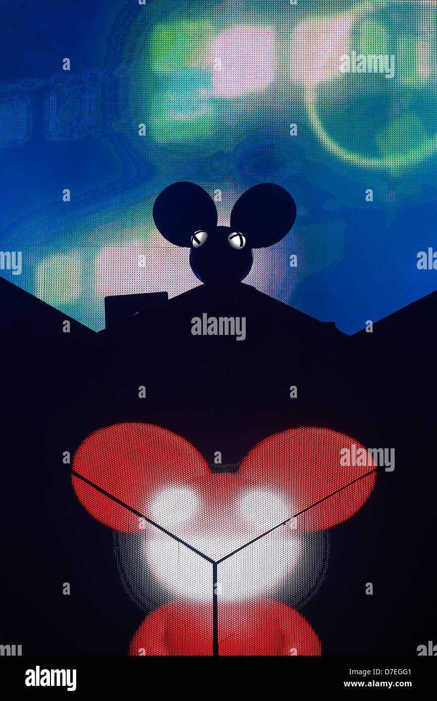 DJMag top-20 DJ: Deadmau5 - Stock Image