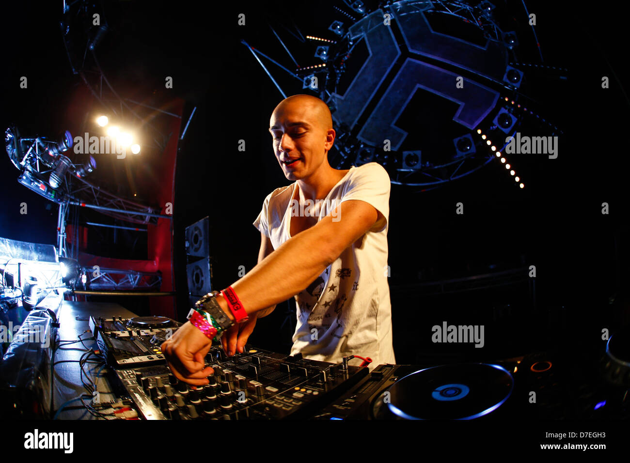DJMag top-20 DJ: Headhunterz - Stock Image