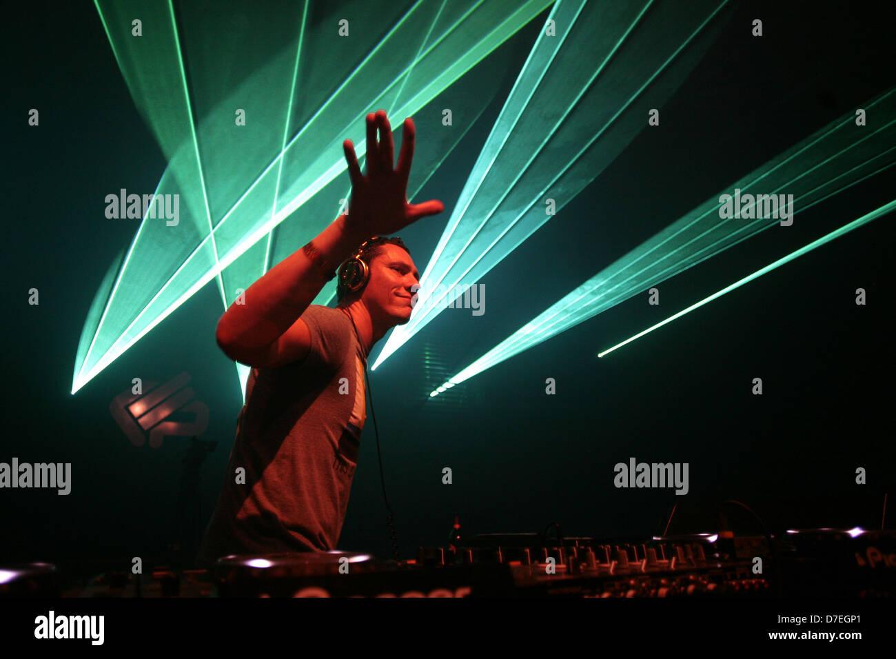DJMag top-20 DJ: Tiesto - Stock Image