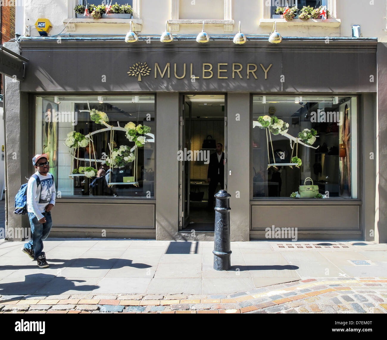 bb40a6627e5 Mulberry shop selling expensive handbags, Covent Garden, London ...