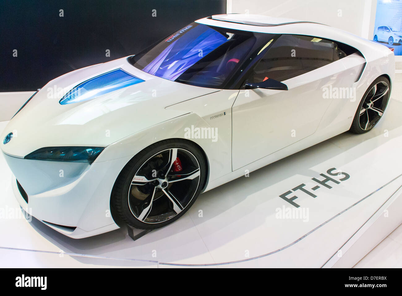 Paris, France, Toyota Corporation, New Car Showroom, Inside Store, Hybrid  Concept