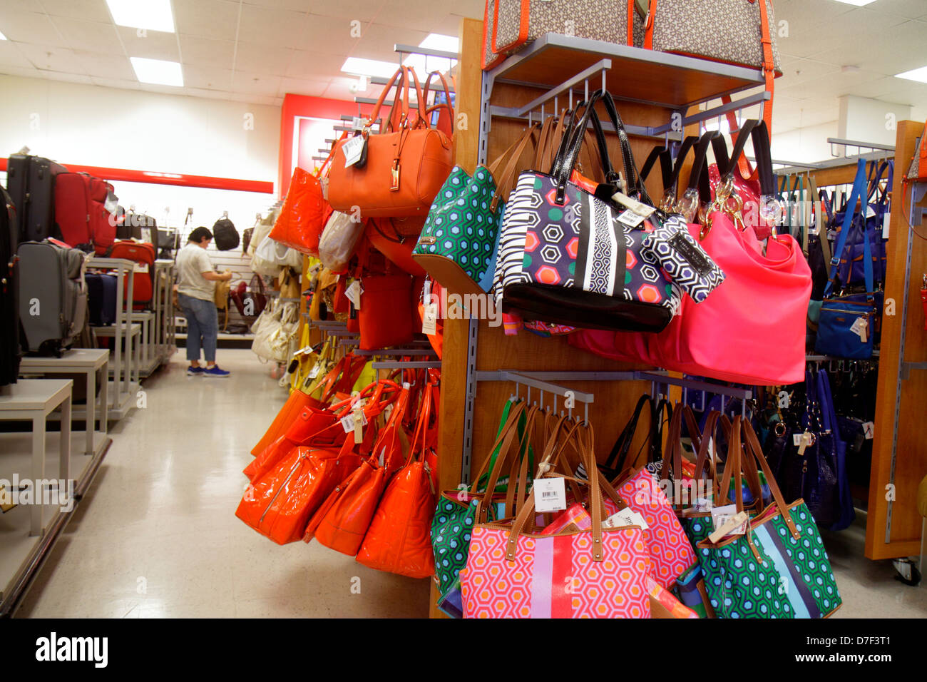Miami Florida Tj Maxx Discount Department Store Woman S