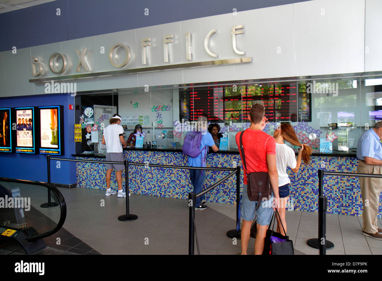 Cinema Tickets Office High Resolution Stock Photography And Images Alamy