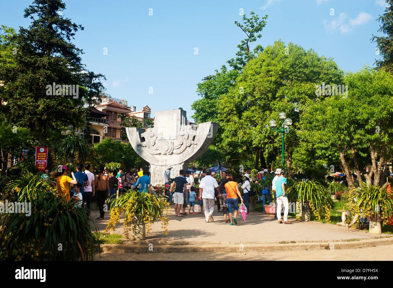 Sapa Vietnam - Stock Image