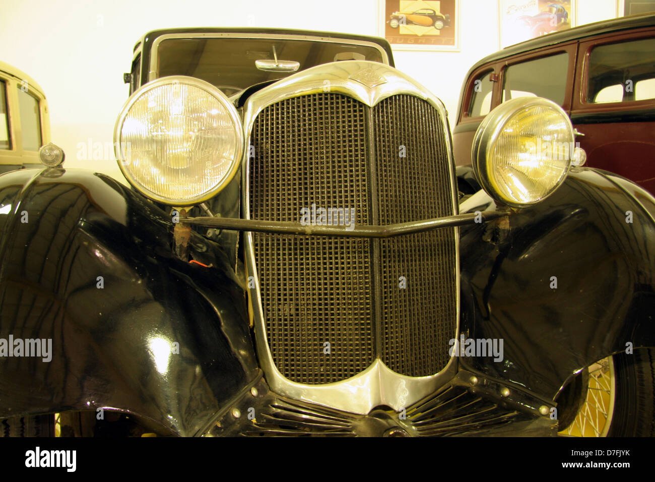 1934 riley 9HP merlin at the car museum in the industrial park of migdal tefen - Stock Image